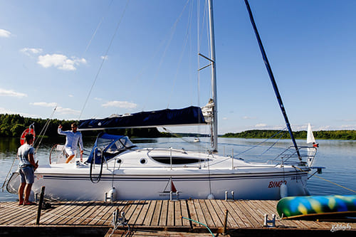 Прокат яхты на 10 человек в Минске