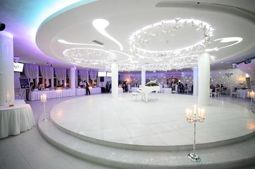 Большой банкетный зал для выпускного
