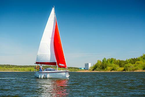 Прокат яхты на 6 человек в Минске