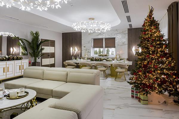 Новый год коттедж Минск