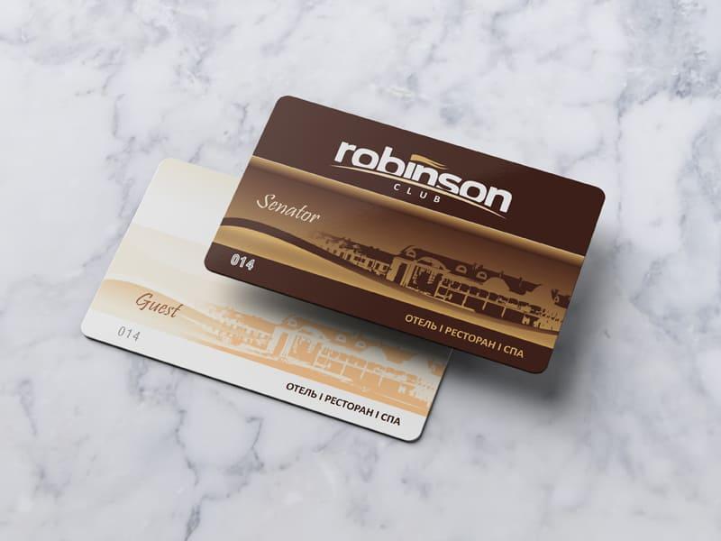 Клубные карты Робинсон